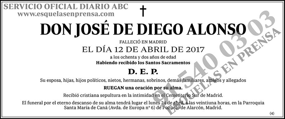 José de Diego Alonso